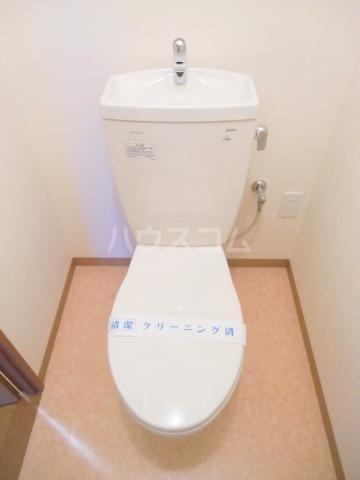 パルテール 202号室のトイレ