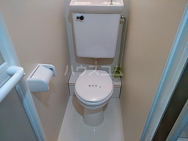 ボニータ 105号室のトイレ