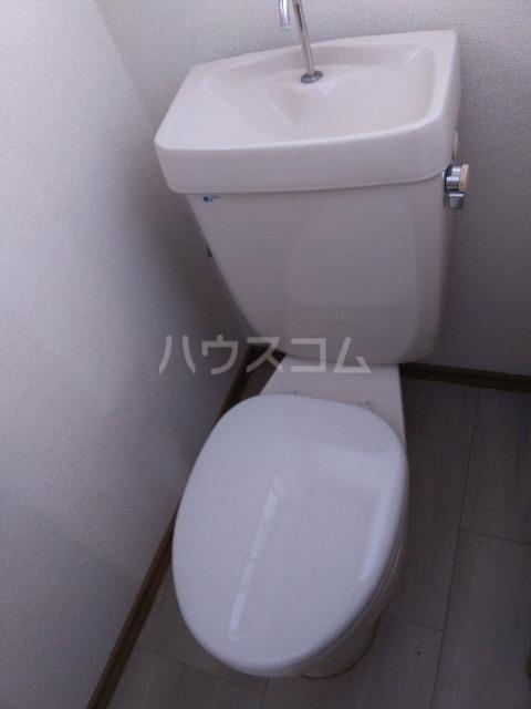 ハイツほたるB 203号室のトイレ