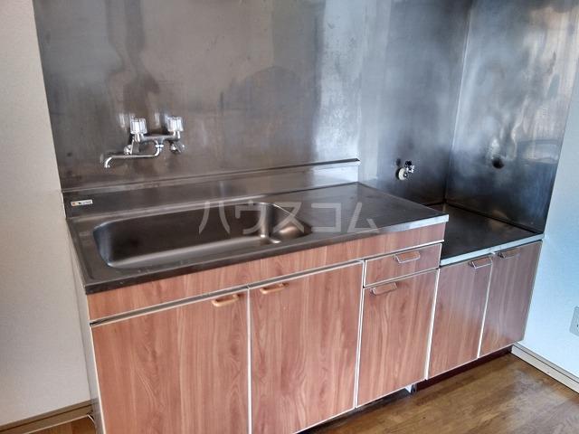 ハイツほたるB 203号室のキッチン