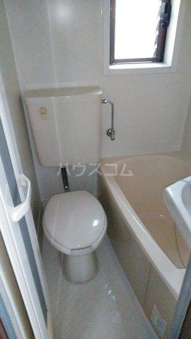 近藤荘 1号室のトイレ