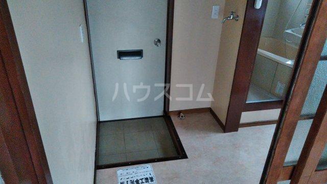 近藤荘 1号室の玄関