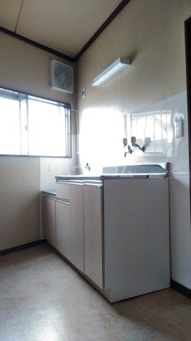 近藤荘 1号室のキッチン