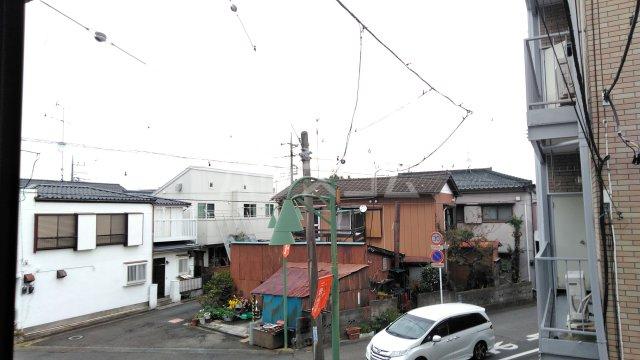 近藤荘 1号室の景色