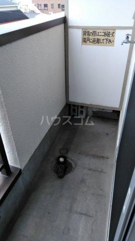 旭町ビル 302号室のバルコニー