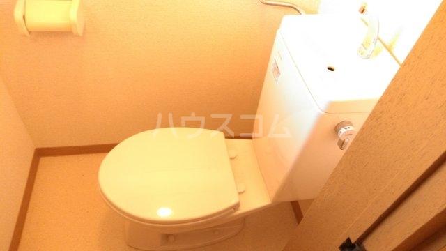 コーポ富沢 203号室のトイレ