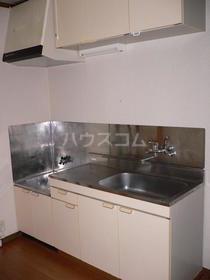 エクセランC 202号室のキッチン
