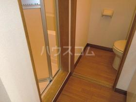 エクセランC 202号室のトイレ