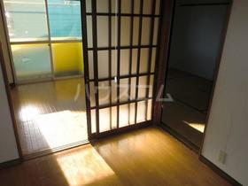 エクセランC 202号室のベッドルーム