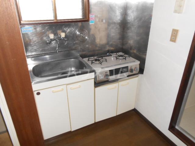 メゾンアカネ 202号室のキッチン