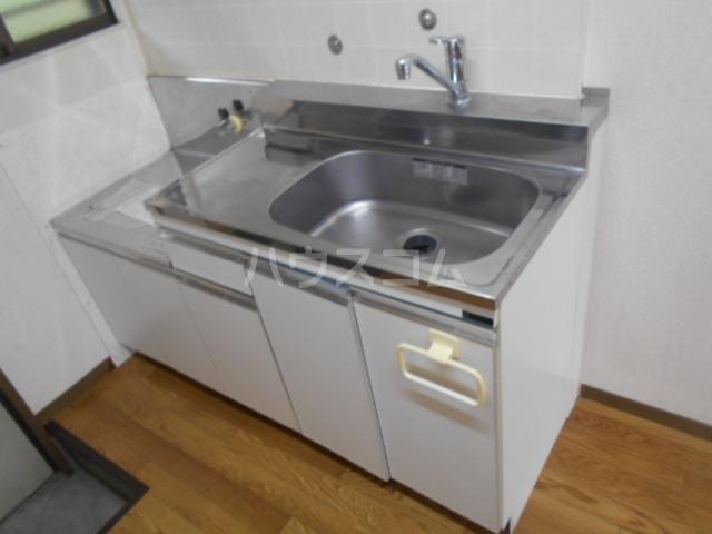 スカイハイツ 1-B号室のキッチン