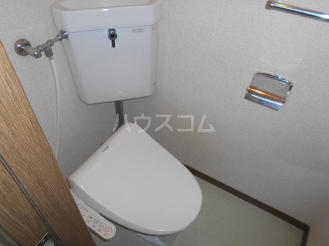 スカイハイツ 1-B号室のトイレ