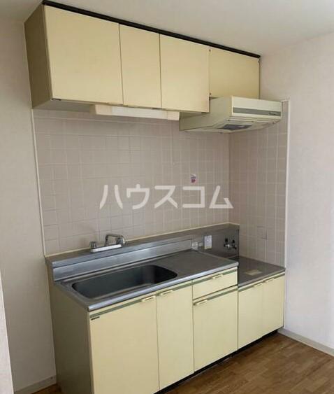 友野ビル 304号室のキッチン