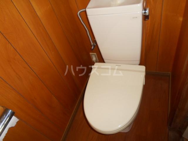 森コーポ 2号室のトイレ