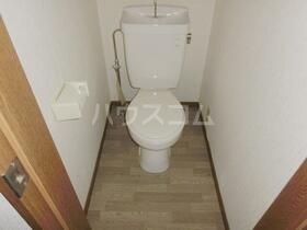 グリーンコーポHT 101号室のトイレ