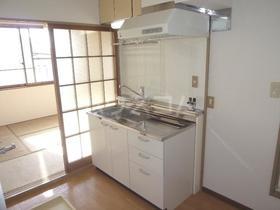 アカデミックホーム 203号室のキッチン