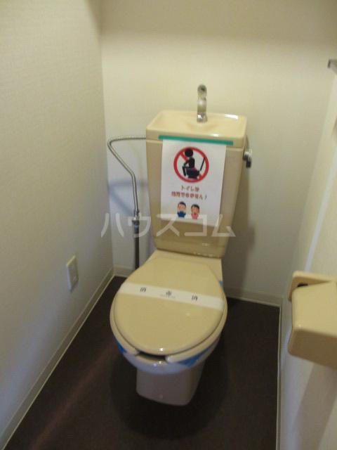 それいゆ泉 303号室のトイレ