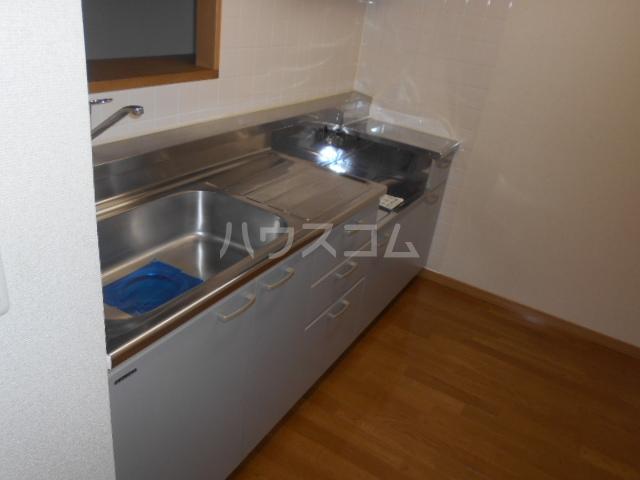 ルミエール泉 205号室のキッチン