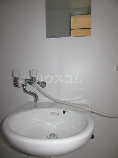 ハイム石川 201号室の洗面所