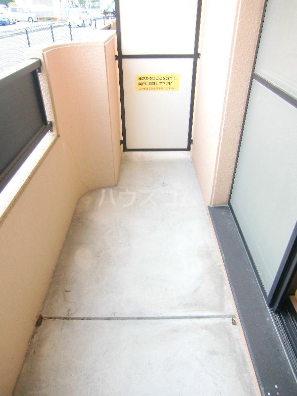アンソレイユⅠ 307号室のバルコニー
