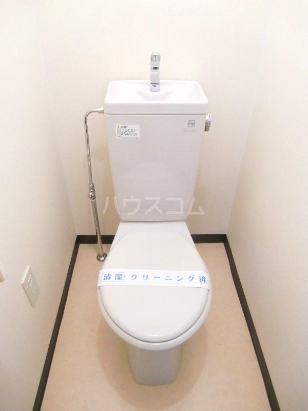 アンソレイユⅠ 307号室のトイレ