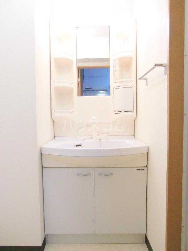 アンソレイユⅠ 307号室の洗面所
