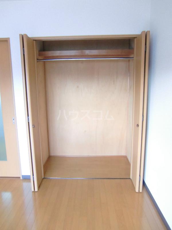 アンソレイユⅠ 307号室の収納