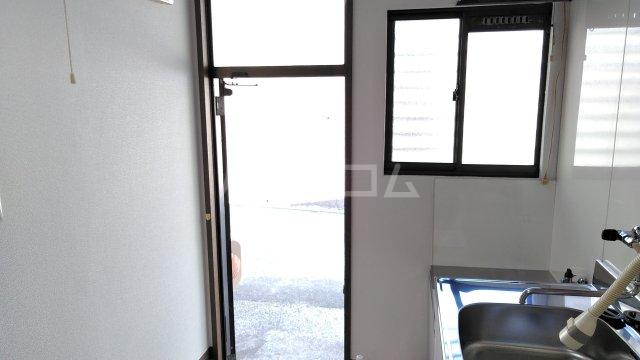 あけぼのハイツ 1-A号室の玄関