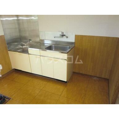 グレースA 202号室のキッチン
