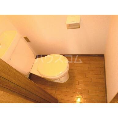 グレースA 202号室のトイレ