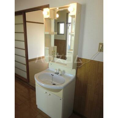 グレースA 202号室の洗面所