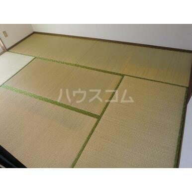 グレースA 202号室の居室