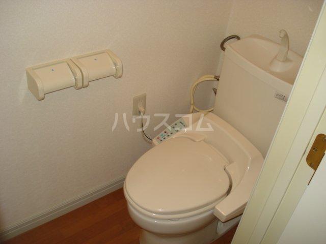 ガーデンハイツ 201号室のトイレ