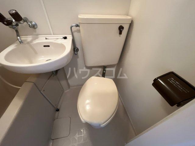 メゾン・アイリスⅡ 203号室のトイレ