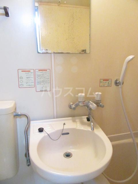 山荘村田 103号室の洗面所