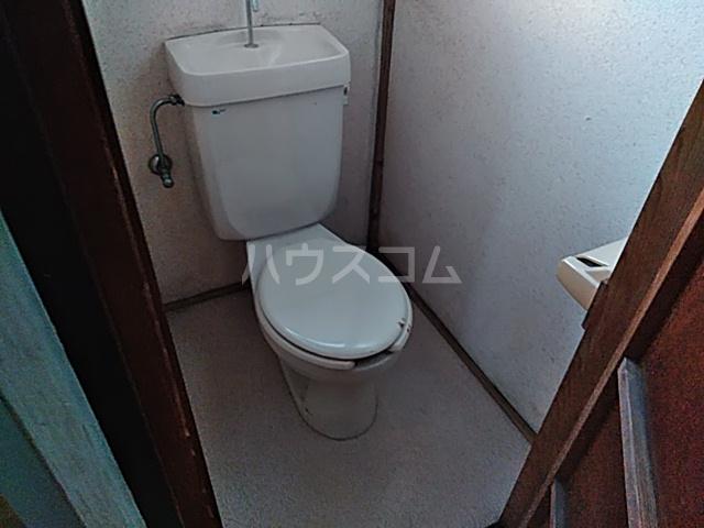 密蔵院貸家 1号棟のトイレ