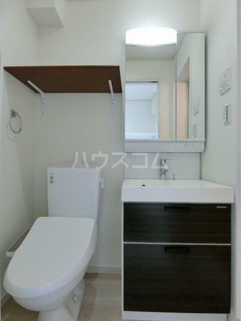 ハーミットクラブハウス大船ⅢB棟(仮) 101号室のトイレ