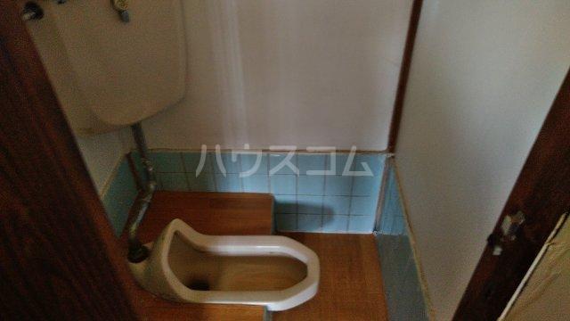 野口荘 102号室のトイレ