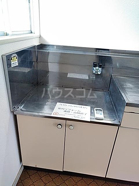 コーポ大貫 202号室のキッチン