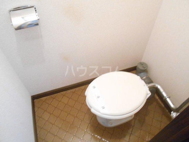 コーポ大貫 202号室のトイレ
