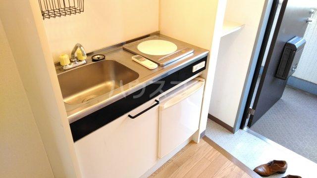 第二喜楽ハイツ 305号室のキッチン