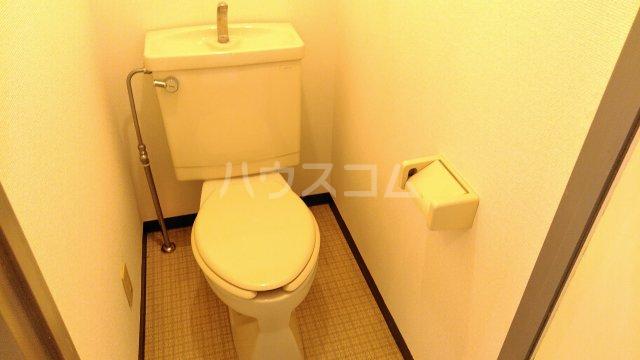 第二喜楽ハイツ 305号室のトイレ