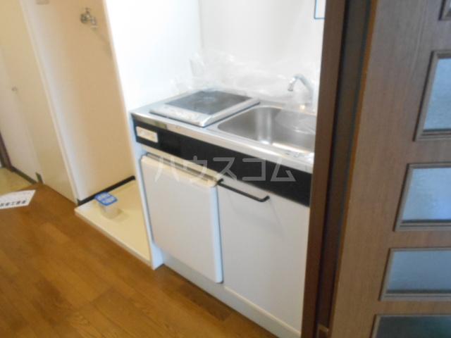 マツキビル 404号室のキッチン