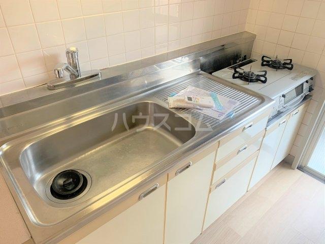 サニーヴィラ 202号室のキッチン