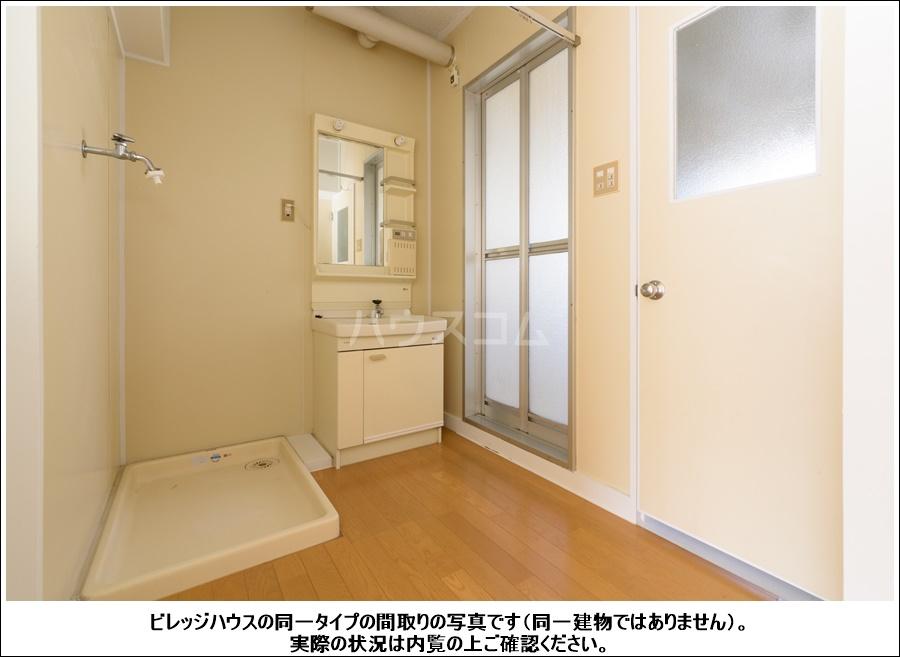 ビレッジハウス横地2号棟 503号室の洗面所