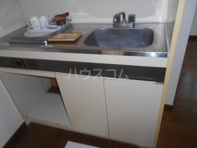 サニーハイツ 202号室のキッチン