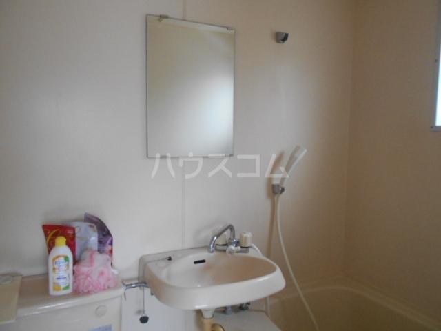 サニーハイツ 202号室の洗面所