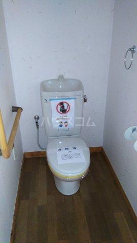 シェ・ノートフ桑原台 103号室のトイレ