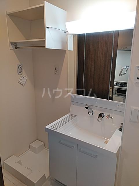リビエールウメダ 103号室の洗面所