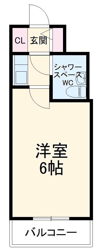 ライオンズマンション相模原第7 210号室の間取り